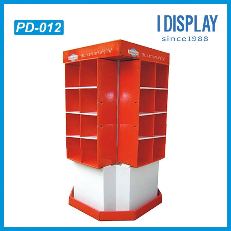 DVD/CD four side store detachable display shelf