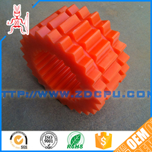 Nonstandard self lubricating factory plastic pinion helical gear