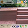 Latest cheap wpc patio cover decking materials