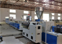 Manufactured Goods Pvc Profile Film Extrusion Machine