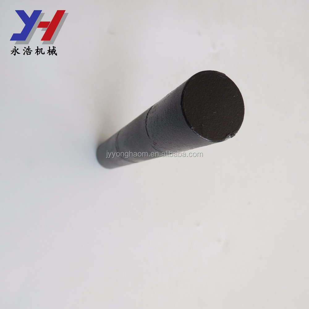 Best sale custom black painted steel cnc machining parts gear motor clutch metal shaft