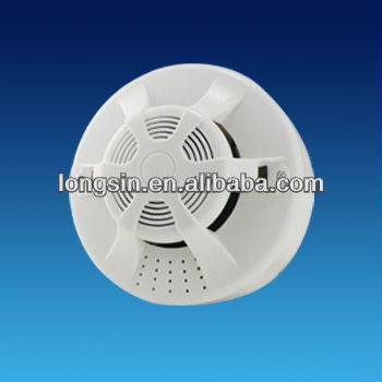 Photoelectric Smoke Detector with Wireless Alarm Emission Frequency of 315/433MHz