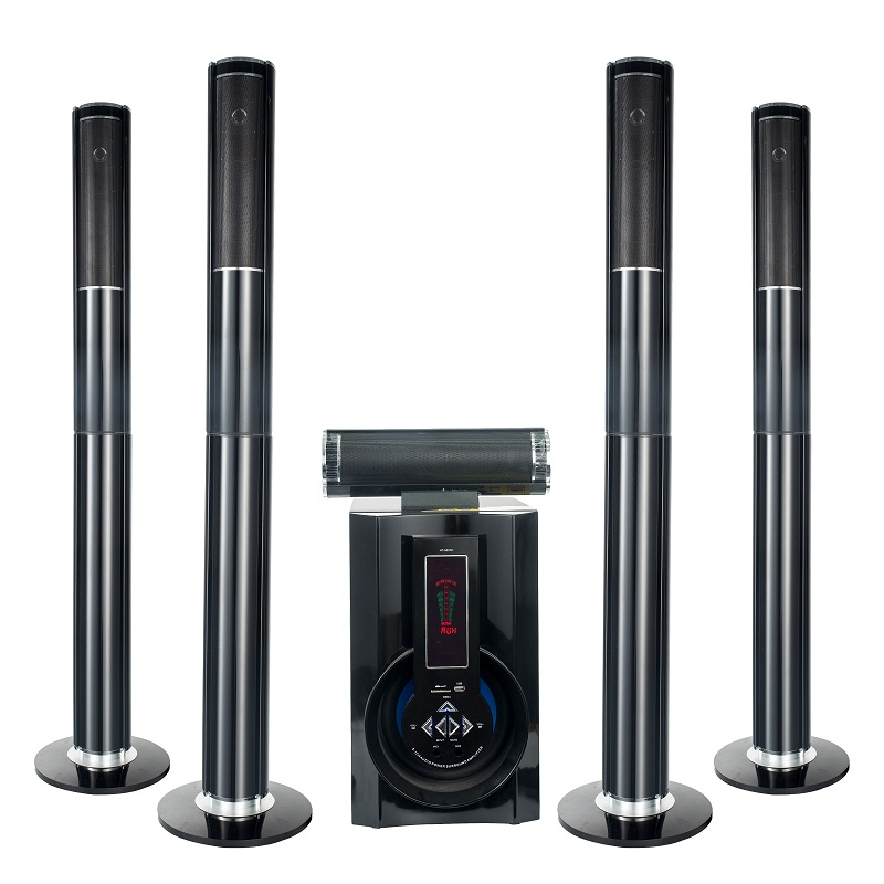 Sistem Home theater 5.1 channel 5.1 menara home theater speaker bass speaker besar untuk rumah
