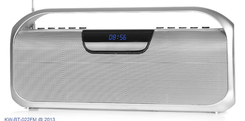 Bluetooth High Power Output Speaker with FM Radio