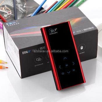 Home-projekt Für E06s Smart Touch Schlüssel Dlp Micro Projektion ...