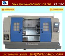 CNC350A slant bed Twin Spindle CNC combination lathe milling machine