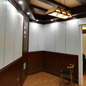 soundproof Easy washable waterproof plastic pvc decorative interior wall board