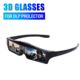 DLP projector shutter 3D glass side by side 3D glasses
