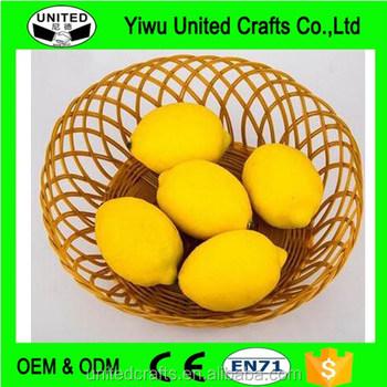 Large Artificial Limes Lemon Realistic Decorative Life Size Fake
