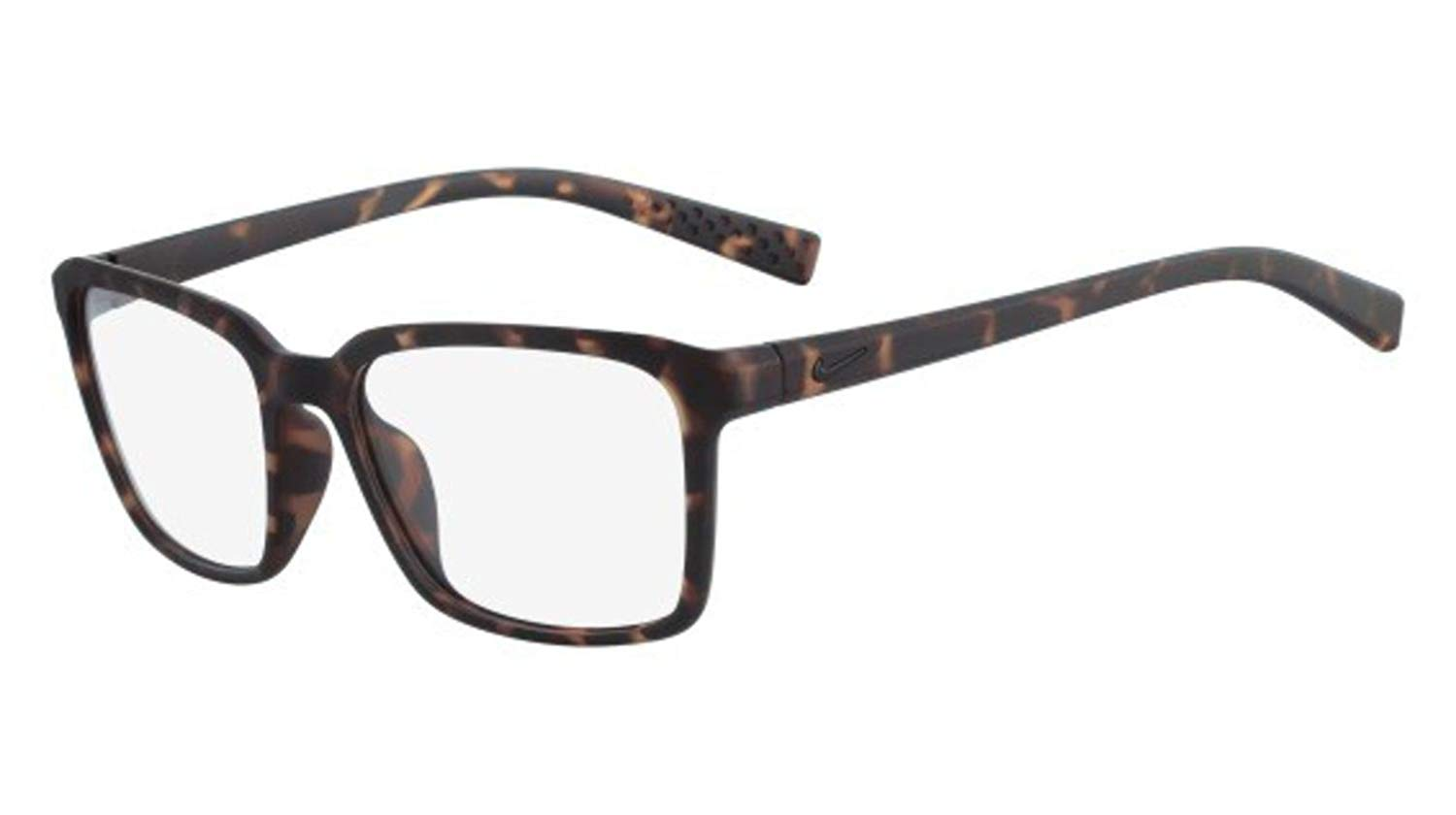 4853b348a06 Get Quotations · Eyeglasses NIKE 7096 215 MATTE TORTOISE BLACK