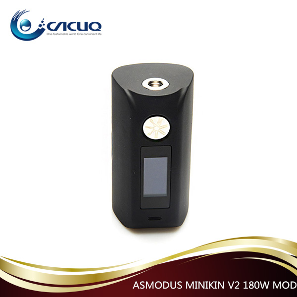 Large stock Asmodus minikin V2 180W Box mod 18650 battery with best price