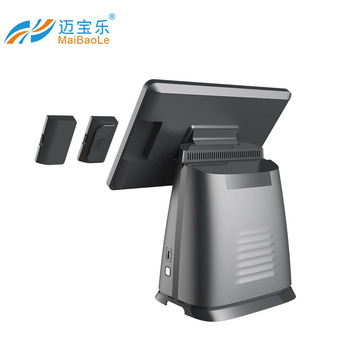 hot new design15.6 capacitive touch pos main screen cash register for supermarket