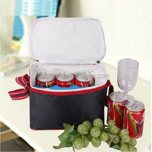 High Quantity 6 pack cooler bag Beer Can Cooler Bag with Customised Logo