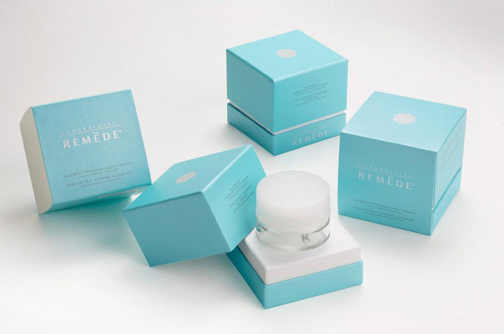 Luxury Cosmetic Gift Box Perfume Paper Box Night Cream Box