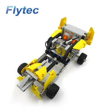 2018 Flytec 2017A-29 Remote Control DIY Building Blocks Rc Car Bricks Toy For Kids