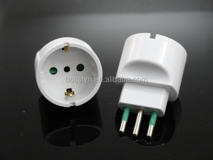 gro handel italienische steckdosen adapter kaufen sie die besten italienische steckdosen adapter. Black Bedroom Furniture Sets. Home Design Ideas