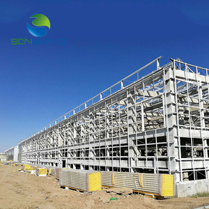 Special offer galvanized prefab light steel structure building