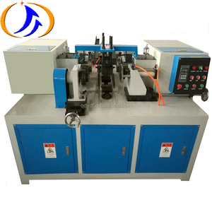 YDF-KC Automatic Cardboard Kraft DTY POY Paper Can Core Pipe Tube Curling Grinding Notching Polishing Slotting Grooving Machine