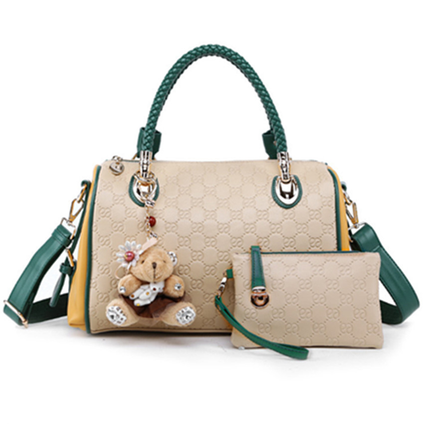 d0fbcec4ea Get Quotations · 2015 Hot fashion PU leather woman handbags