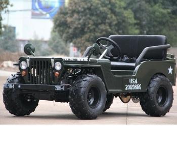 125cc Mini Jeep Willys