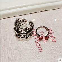 J118 Fashion vintage ring opening finger ring twinset rings for women