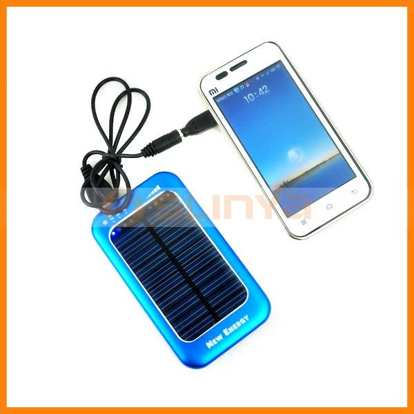 Energy Saving Goods Qulity Solar Mobile Charger 3500mAh 5V 9V
