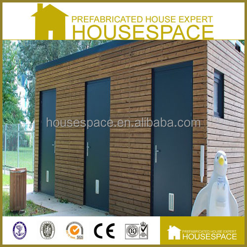 Cost Effective Waterproof Solid Prefab Outdoor Toilet with Equipment
