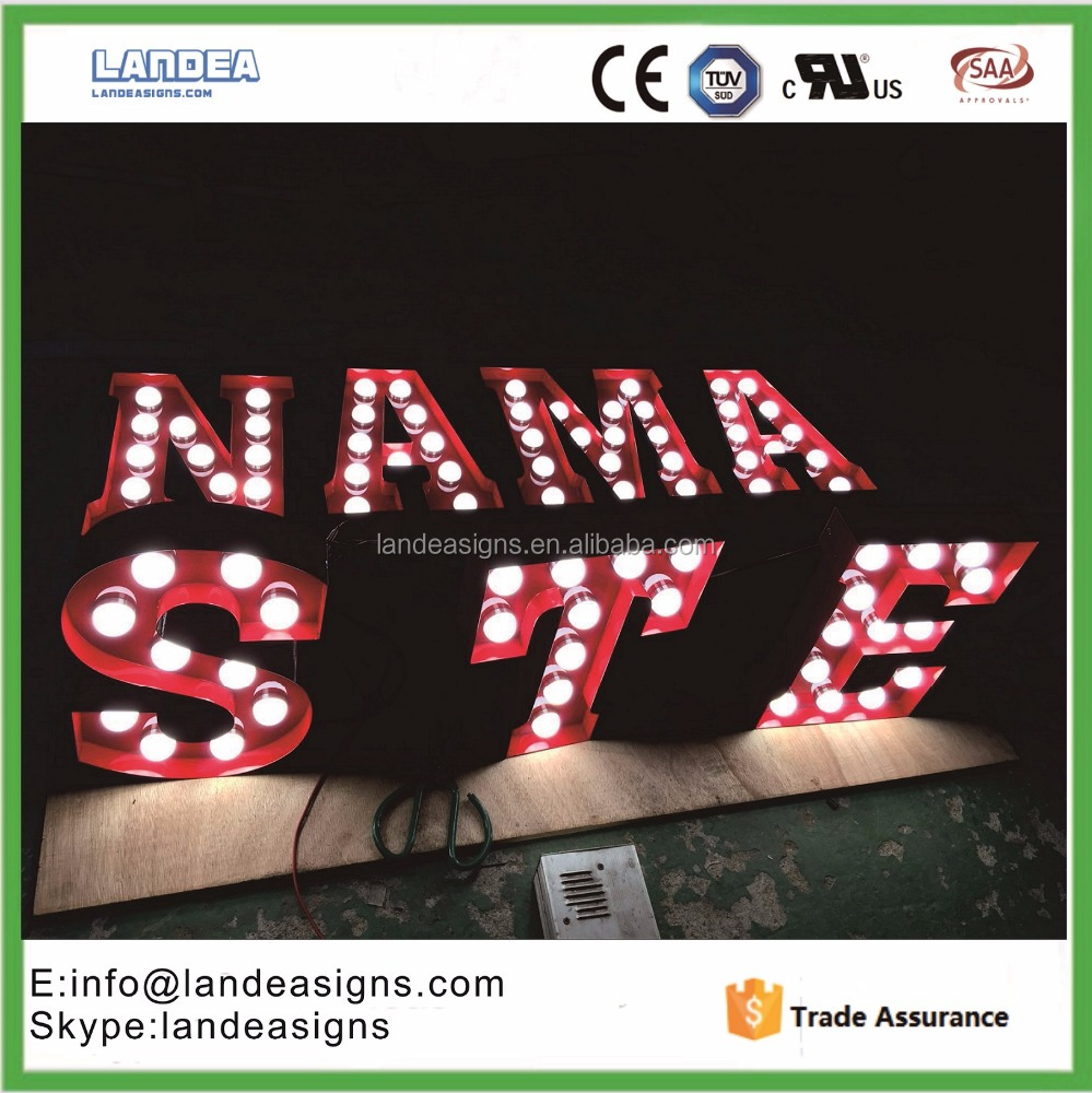 outdoor light up letters outdoor light up letters suppliers and manufacturers at alibabacom