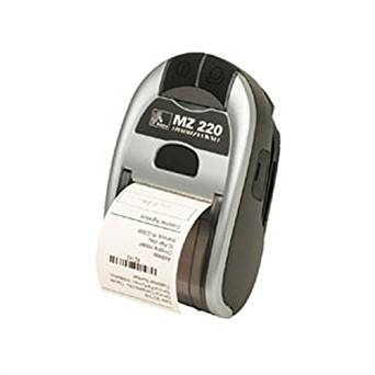 Zebra Technologies M2I-0UN00010-00 Series IMZ220 Mobile Printer, 128MB/128MB MEMORY, US/Canada English Character Set, USB Port, 802.11A/B/G/N Radio, US Power Plug