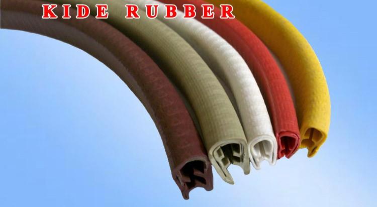Rubber Edging Protector Pvc Edge Trim Seal For Sheet Metal