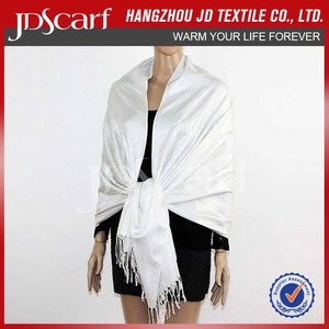 Factory direct low price for women thin pashmina scarves