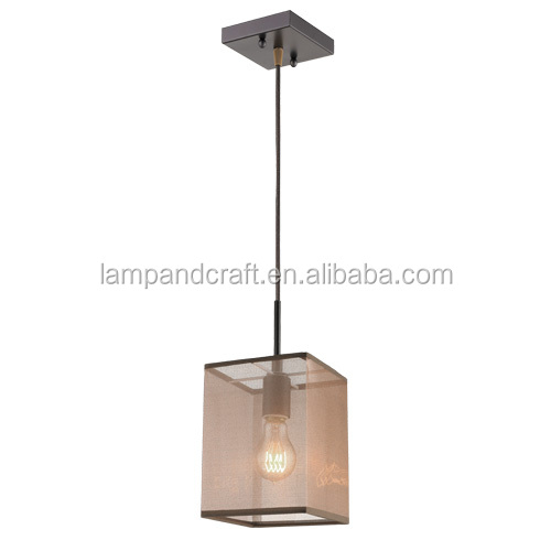 Nice square ceiling plate e27 italian lighting single pendant lamp nice square ceiling plate e27 italian lighting single pendant lamp with brown organza lamp shade for aloadofball Choice Image