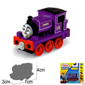 x100 Free shipping New Diecast metal sliding train model Thomas and friends train master Charlie with