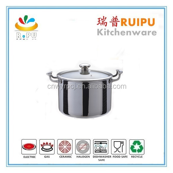2015 kitchen ware as seen TV products with glass lid and SS removable handle farberware cookware,commercial cookware