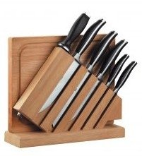 Zwilling JA Henckels Twin Cuisine Natural Block with Cutting Board 7 Pcs Knife Sets