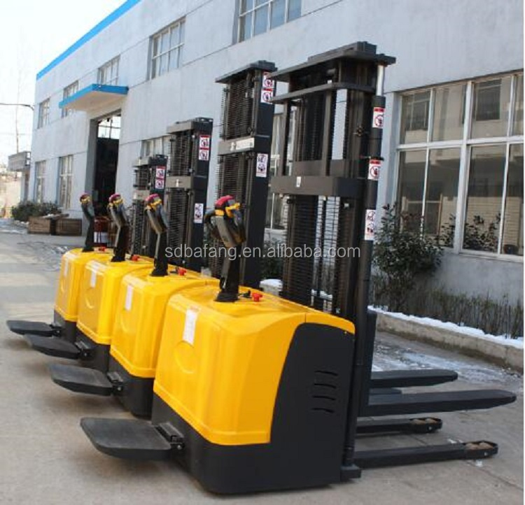 Full electric hydraulic stacker for sale