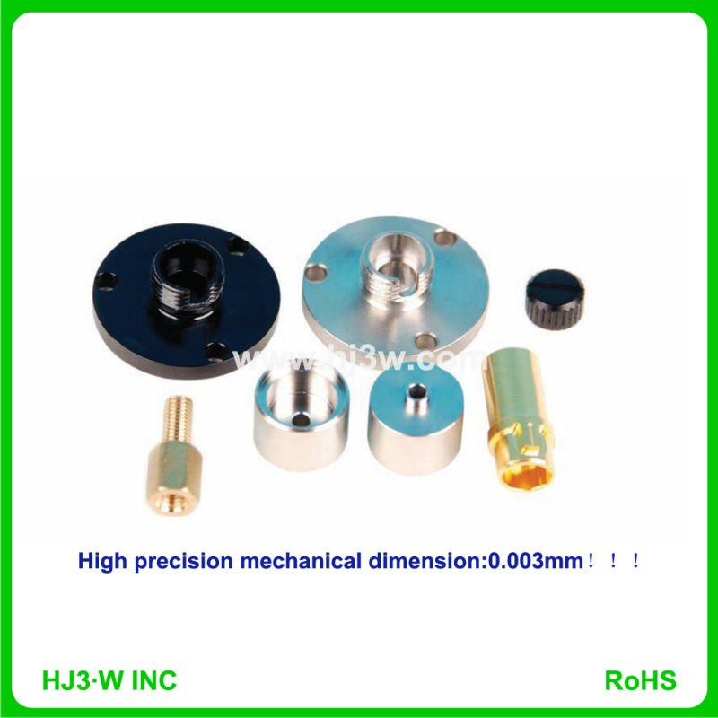 Precision CNC Machining components for fiber optic telcom