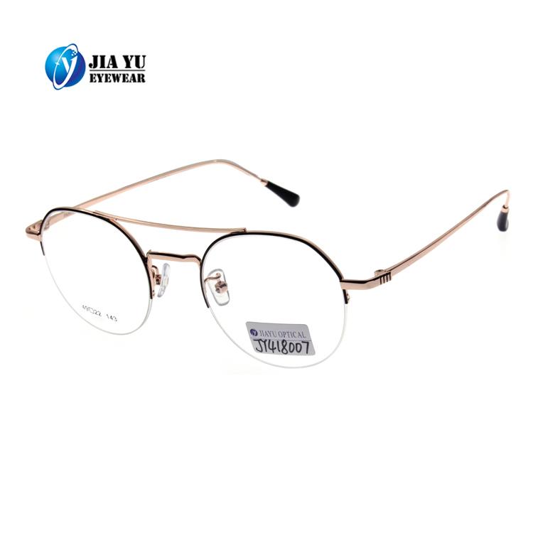 Desain Baru Kualitas Tinggi Optik Tontonan Kacamata Bingkai Logam