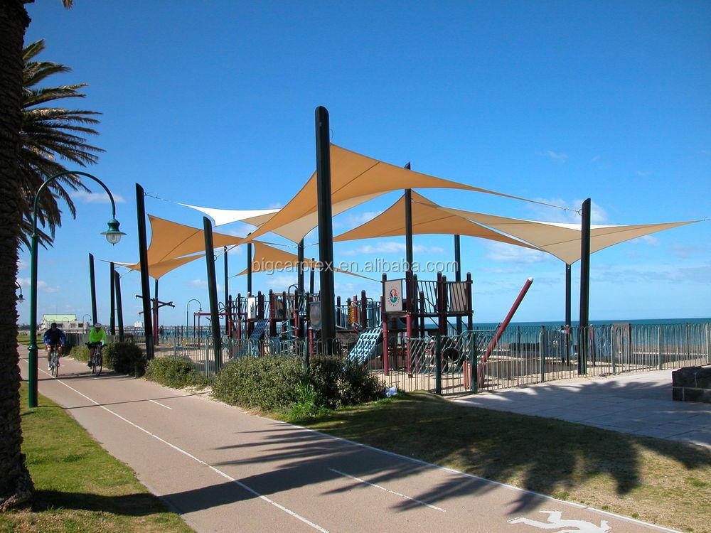 Public recreation playground shade sail buy playground - Toldos para patios interiores ...