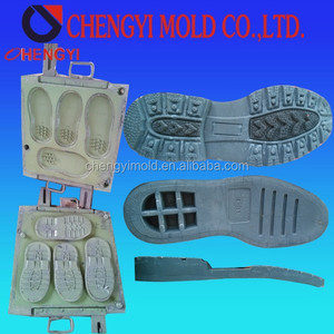 new technology premould and phylon one time foaming men leather all size in one pair shoe sole eva sheet cutting mould