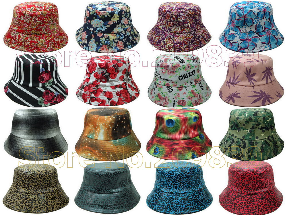 Wholesale Galaxy Bucket Hat Brand New Camo Cheap Floral ...