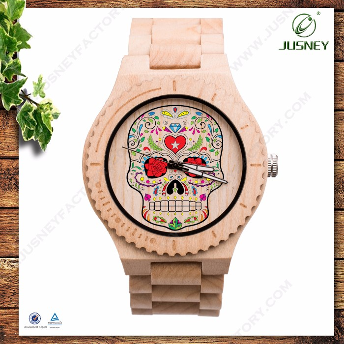China manufacturers private label watch handmade customized classic OEM wrist watches wooden