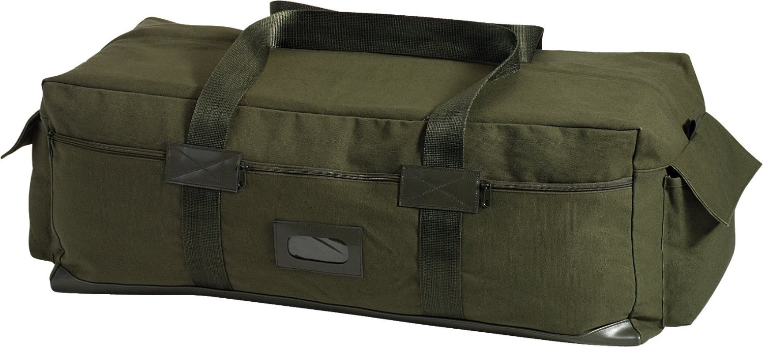 Get Quotations · Israeli Army IDF Tactical Carry Military Duffle Bag - OD b2a1ae3c903