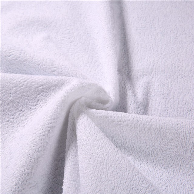 80% Cotton 20% Polyester Cotton Terry 천 Fabric Wholesales 와 PU Coating, 방수 Function