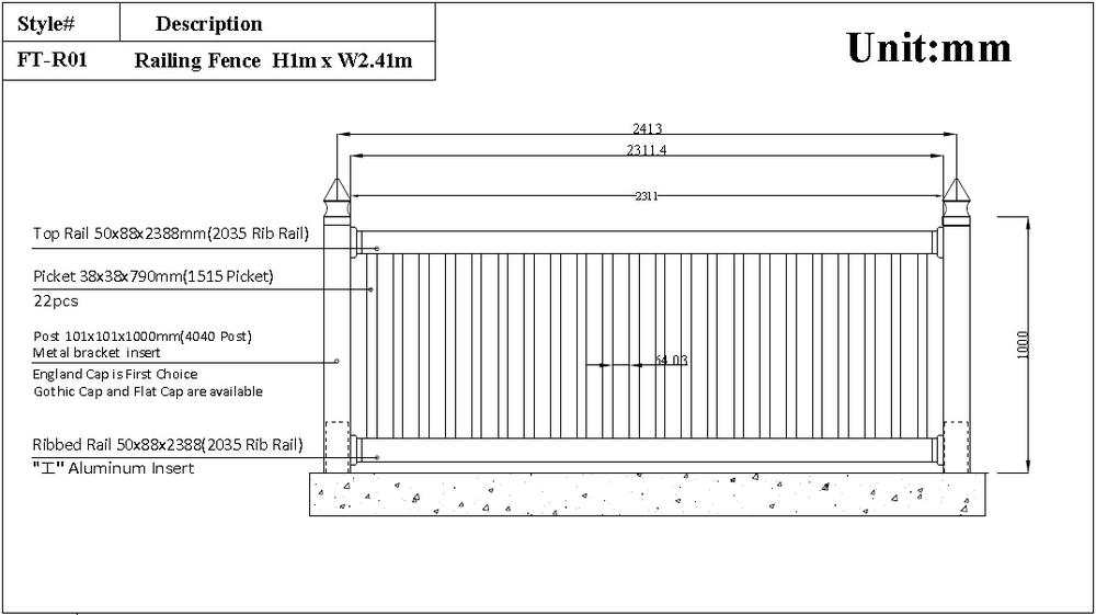Uv Nachweis Balkongelander Kunststoff Handlauf Pvc Balkon Zaun Buy