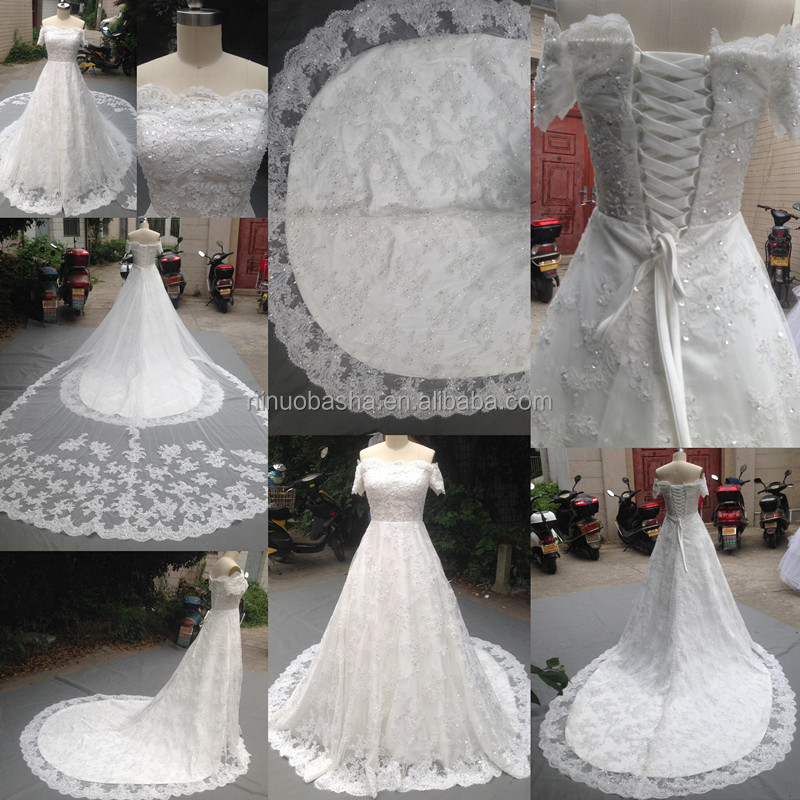 Detachable Tail Wedding Gown Supplieranufacturers At Alibaba