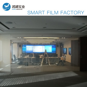 Electronic PDLC smart film switchable smart glass film for building glass