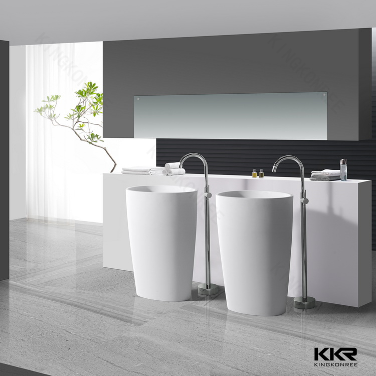 Used Pedestal Sink/restaurant Bathroom Solid Surface Basins   Buy Used .
