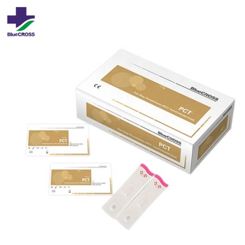 One Step Procalcitonin PCT Rapid Test Kits, diagnostic kit for Procalcitonin Colloidal gold