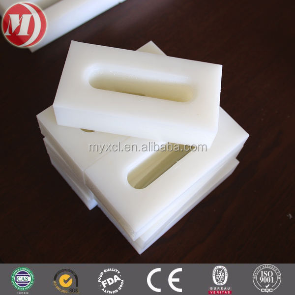 white anti static long strip/long pe strip/uhmwpe sheet for machine parts